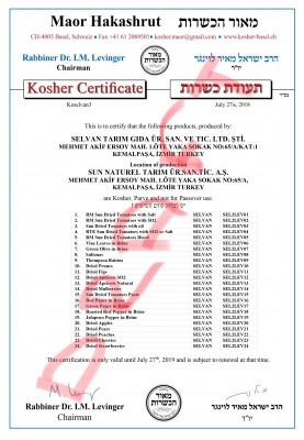Kosher 2018